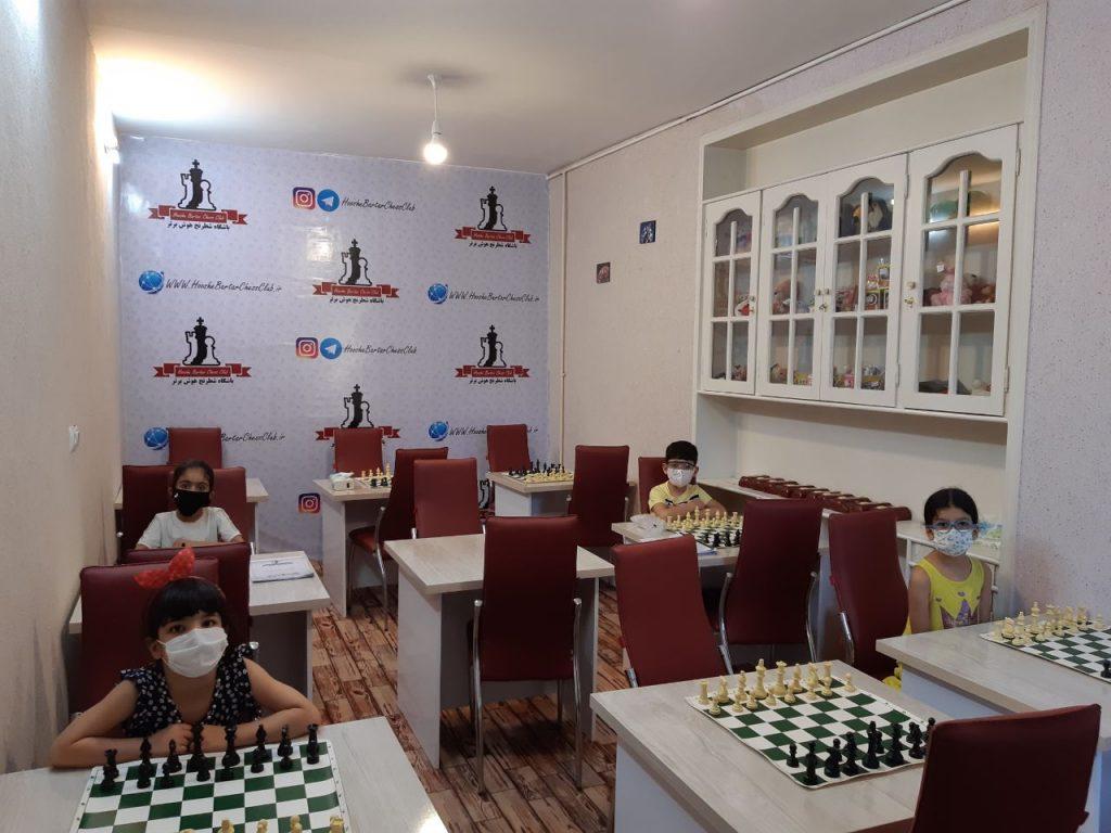 کلاس آموزش شطرنج مقدماتی زیر 8 سال