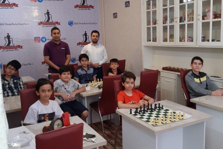 کارگاه تخصصی باشگاه شطرنج هوش برتر
