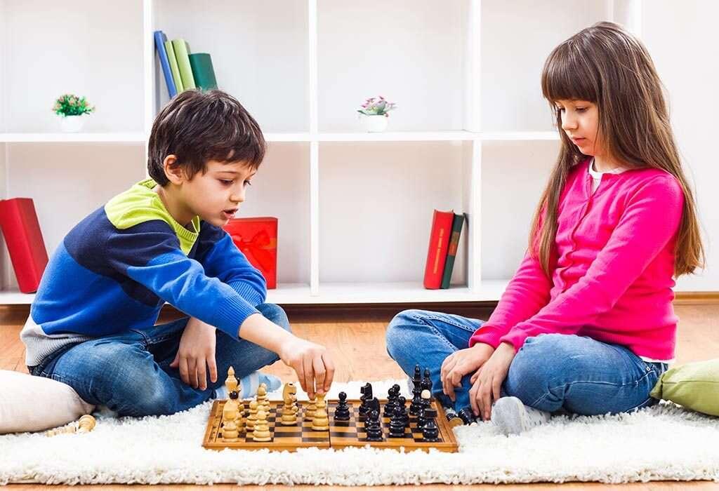 چگونه هوش بچه را زیاد کنیم ؟ آموزش-شطرنج-به-کودکان-