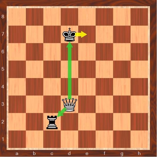 تاکتیک های شطرنج حرفه ای چنگال وزیر