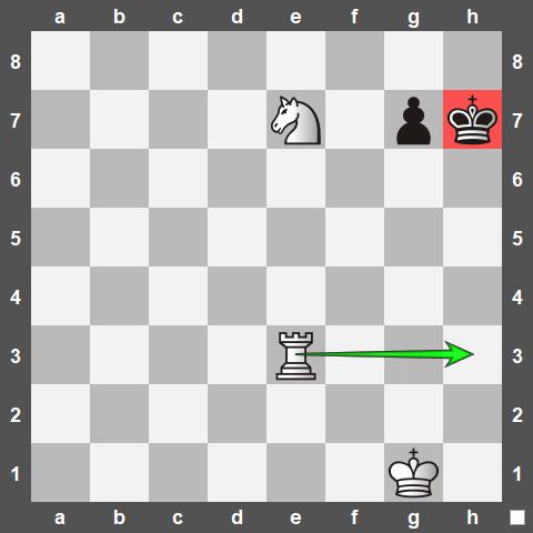 مات معروف آناستازیا در شطرنج